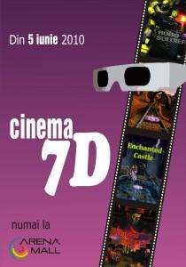 Cinema 7D Arena Mall Bacau