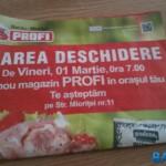Primele două magazine Profi din Bacău se deschid in 20 februarie si 1 martie