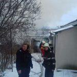 Incendiu pe Calea Moldovei
