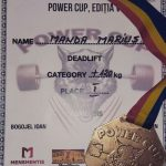 Întoarcere triumfală la Moinești pentru Marius Manda: locul întâi și medalia de aur la concursul internațional