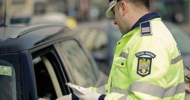 Un tânăr a fost reţinut de poliţişti pentru comiterea a 5 infracţiuni la regimul rutier