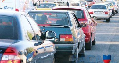 Prins în trafic cu un permis fals